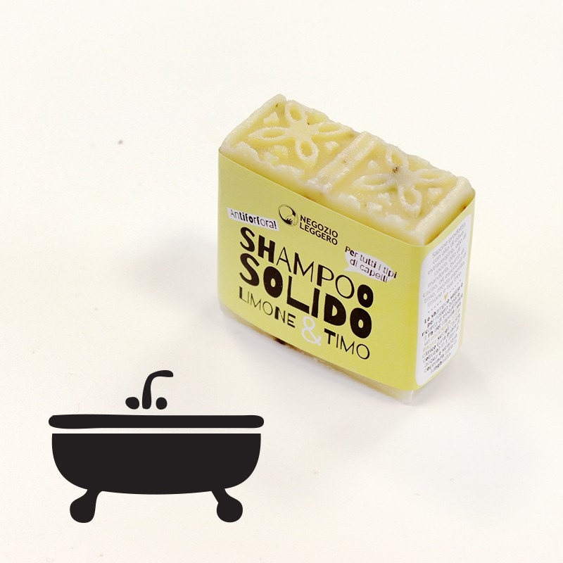 SHAMPOOING SOLIDE THYM ET CITRON