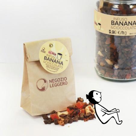TISANE BANANE ET CHOCOLAT -...