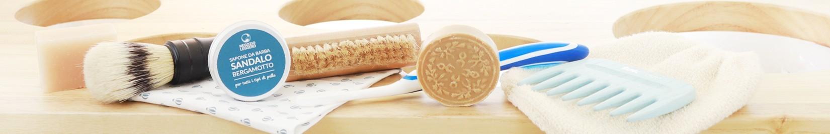 La ligne accessoires salle de bain et cosmétiques de Negozio Leggero