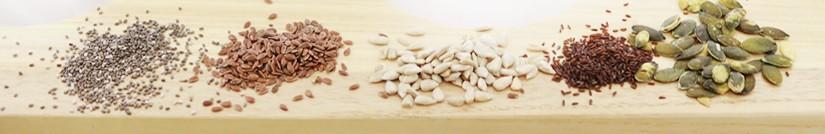 La sélection de graines oléagineuses de Negozio Leggero