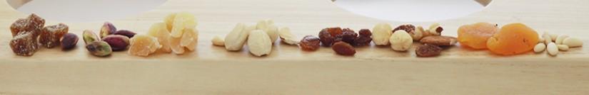 La selezione di frutta secca del Negozio Leggero