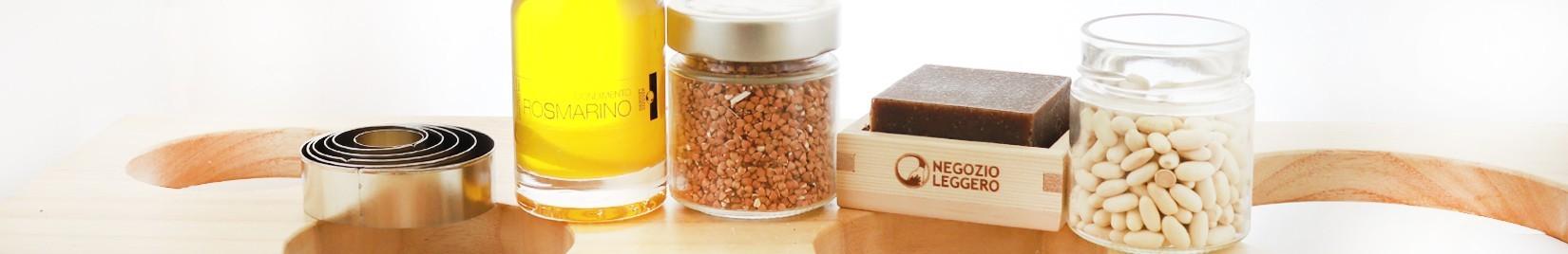 I prodotti del Negozio Leggero per disimballare la cucina