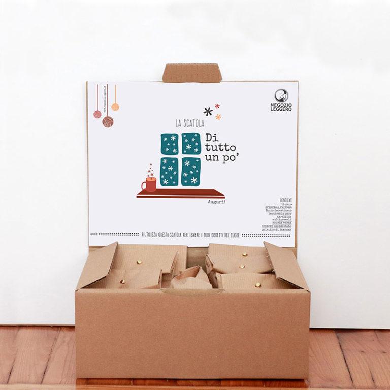 scatole regalo zero waste
