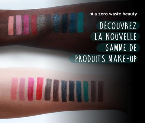 a zero waste beauty make-up